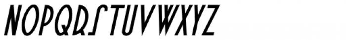 Fine Food Oblique Font UPPERCASE