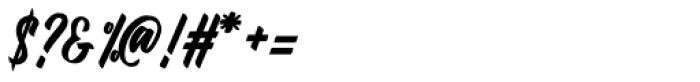 Fineberg Regular Font OTHER CHARS