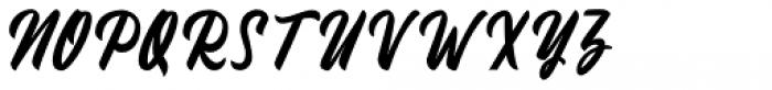 Fineberg Regular Font UPPERCASE