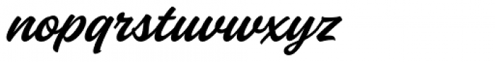 Fineday Style One Font LOWERCASE