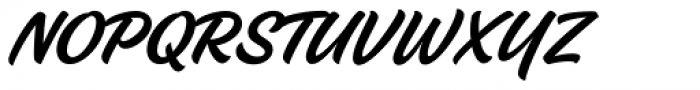 Fineday Style Two Non-connect Font UPPERCASE