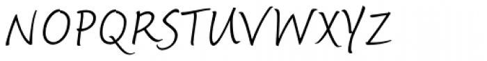 Fineprint Pro Light Font UPPERCASE