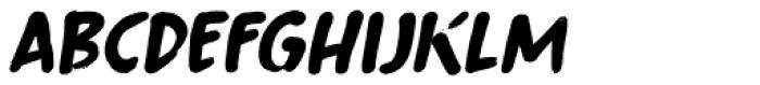Fingerfood Italic Font LOWERCASE