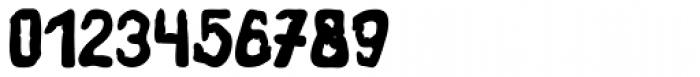 Fingerz Filled Font OTHER CHARS