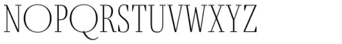 Fino UltraThin Font UPPERCASE