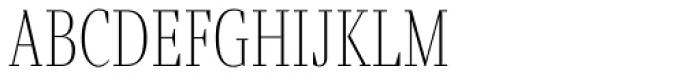 Fino UltraThin Font LOWERCASE