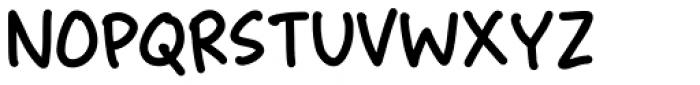 Finurlig Regular Font UPPERCASE