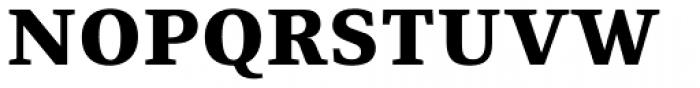 Fiona Serif Black Font UPPERCASE