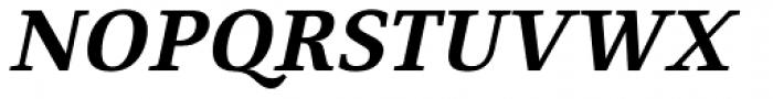 Fiona Serif Bold Italic Font UPPERCASE