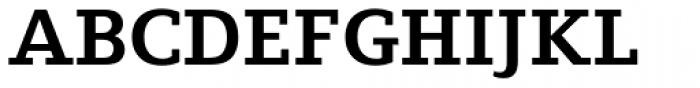 Fiona Slab Bold Font UPPERCASE