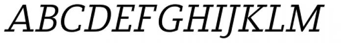 Fiona Slab Italic Font UPPERCASE