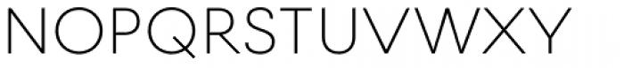 Firme Light Font UPPERCASE