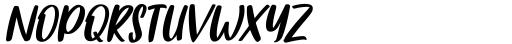 Fishercat Regular Font UPPERCASE
