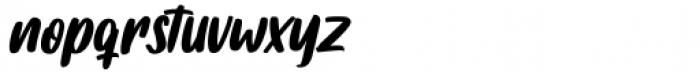 Fishercat Regular Font LOWERCASE