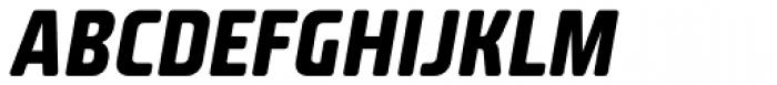 Fishmonger CB Italic Font UPPERCASE