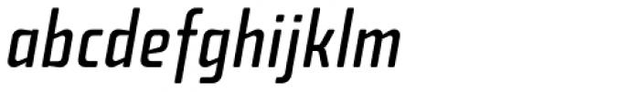 Fishmonger CR Italic Font LOWERCASE
