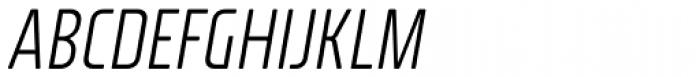 Fishmonger ECL Italic Font UPPERCASE