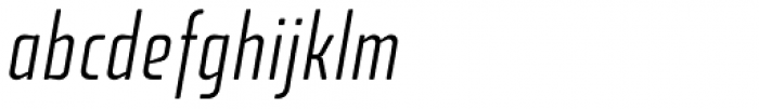 Fishmonger ECL Italic Font LOWERCASE