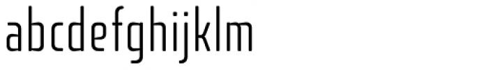 Fishmonger ECL Plain Font LOWERCASE