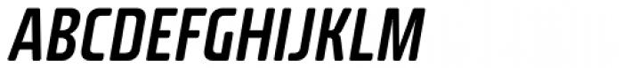 Fishmonger ECS Italic Font UPPERCASE