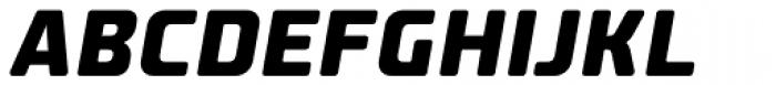 Fishmonger EEB Italic Font UPPERCASE