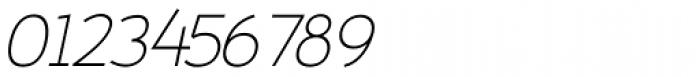 Fitz Sans Oblique SRF Font OTHER CHARS