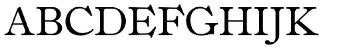 Fitzronald Small Caps Font UPPERCASE