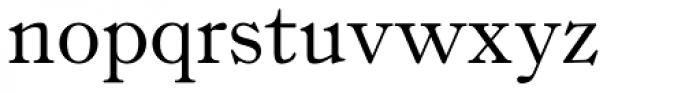 Fitzronald Font LOWERCASE