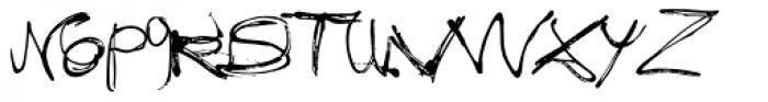 Fixogum Font LOWERCASE