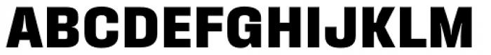 Fixture Extra Bold Font UPPERCASE