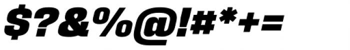Fixture Italic Black Font OTHER CHARS