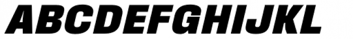 Fixture Italic Black Font UPPERCASE