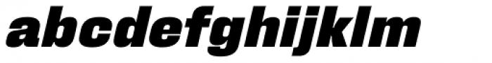 Fixture Italic Black Font LOWERCASE