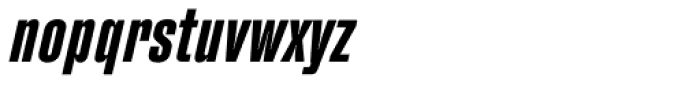 Fixture Italic Condensed Semi Bold Font LOWERCASE