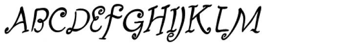 Fizgiger Alternate Bold Oblique Font UPPERCASE