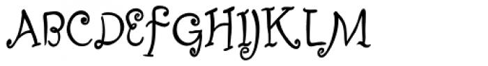 Fizgiger Alternate Bold Font UPPERCASE