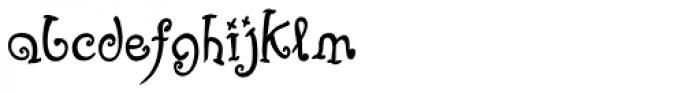 Fizgiger Alternate Bold Font LOWERCASE