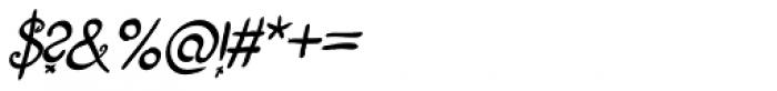 Fizgiger Bold Oblique Font OTHER CHARS