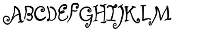 Fizgiger Bold Font UPPERCASE
