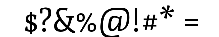 Fjord One Font OTHER CHARS
