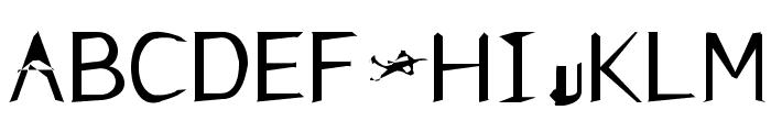 FKR NiceLife Medium Font UPPERCASE