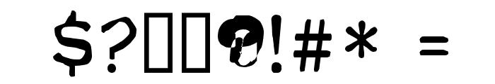 FKR ParkLife UltraBold Font OTHER CHARS