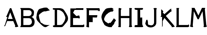 FKR ParkLife UltraBold Font UPPERCASE