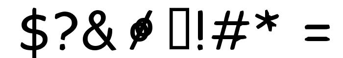 FKR SlurrLife Medium Font OTHER CHARS