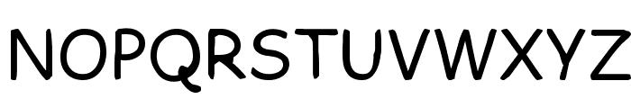 FKR SlurrLife Medium Font UPPERCASE