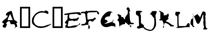FKR StarLife SemiBold Font UPPERCASE