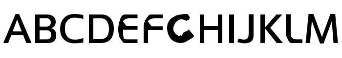 FKR WifeLife Font UPPERCASE