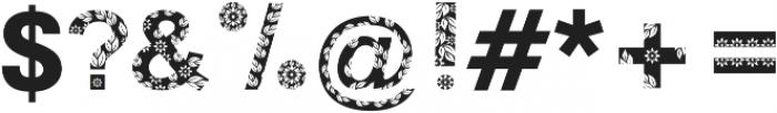 FLORA ttf (400) Font OTHER CHARS