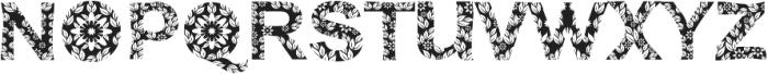 FLORA ttf (400) Font UPPERCASE