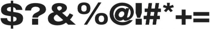 FLURO Bold otf (700) Font OTHER CHARS